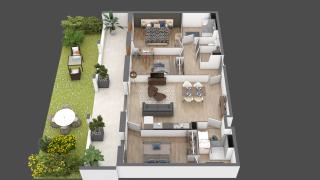 appartement A005 de type T4