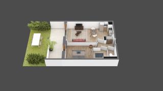 appartement A006 de type T2