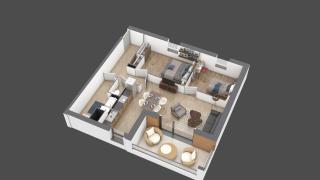 appartement A101 de type T3
