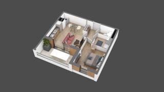 appartement A102 de type T2