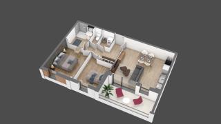 appartement A103 de type T3
