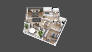 appartement A104 de type T3