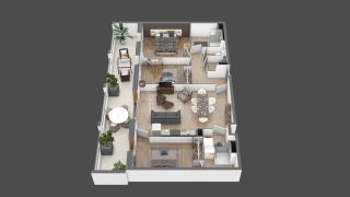 appartement A105 de type T4