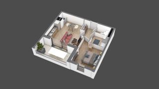 appartement A202 de type T2