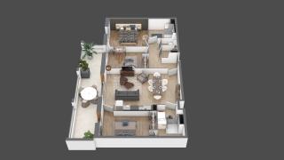 appartement A205 de type T4