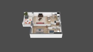 appartement A206 de type T2