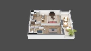 appartement A208 de type T2