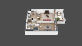 appartement A210 de type T2