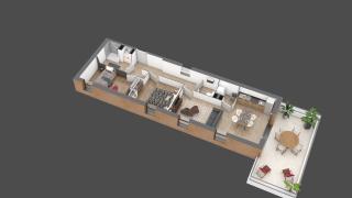 appartement A301 de type T3