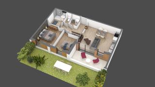 appartement B003 de type T3