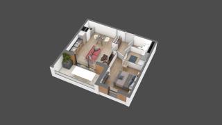 appartement B102 de type T2