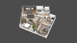 appartement B104 de type T3