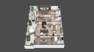 appartement B105 de type T4