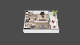 appartement B108 de type T2