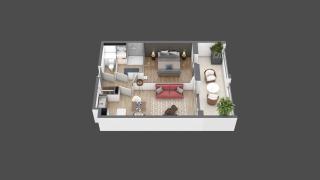 appartement B109 de type T2