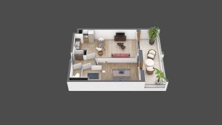 appartement B110 de type T2