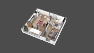 appartement B202 de type T2