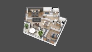 appartement B204 de type T3
