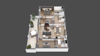 appartement B205 de type T4
