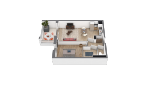 appartement B206 de type T2
