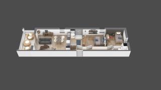 appartement B207 de type T3