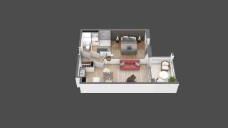 appartement B209 de type T2