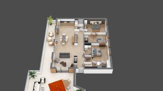 appartement B302 de type T4